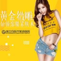 上海射频溶脂瘦身 黄金微雕溶脂单部位