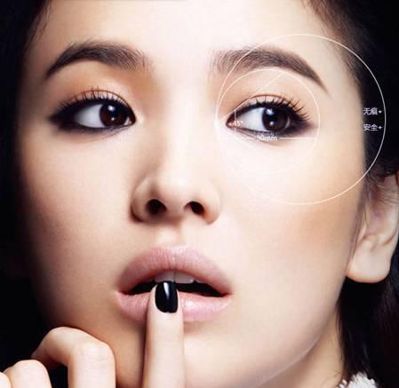 北京埋线 微创 全切双眼皮 精雕技术于波 超自然不显假 悦美整形